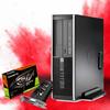 HP Gaming PC Refurbished HP EliteDesk 8300 SFF - GTX 1650 OC 4GB