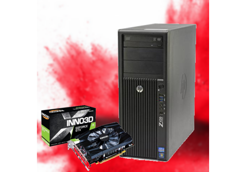 Refurbished Gaming PC HP Z420 - GTX 1660 Super 6GB
