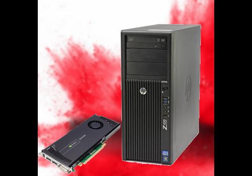 Refurbished Workstation HP Z420 - NVIDIA Quadro 4000