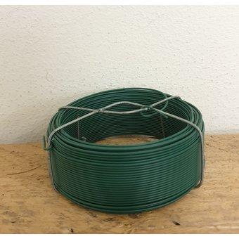 Spoel Vlechtdraad Groen Geplastificeerd ø1,20mm