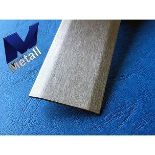 Versandmetall Joint cover strip 1.4301 brushed grain 320 2-fold 172 ° beveled