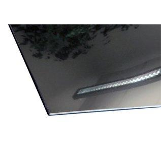 Versandmetall Stainless steel plate 160 - 300 mm width - 1250 mm length shining mirror  3D