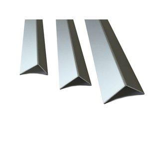 Versandmetall Aluminiumwinkel gleichschenkelig 90° gekantet bis Länge 2000 mm