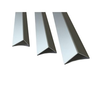 Versandmetall Aluminum angle isosceles 90 ° folded up to length 2000 mm