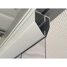LSTi Edelstahl Befestigungsschienen System  für Reinraumvorhang