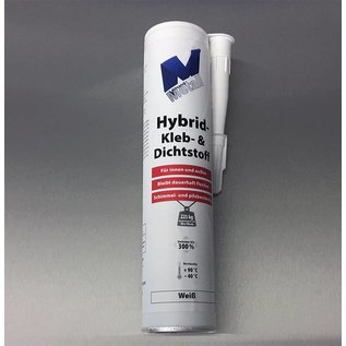 Versandmetall High-tech adhesive and sealant -290ml, white