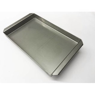Versandmetall Stainless steel tub R2 welded Material thickness 1.5mm length / depth (a) 200mm outside ground K320