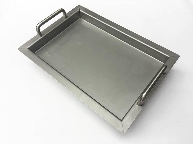 zum Beispiel: L/änge 310 cm mit 4 Halter 6m aus einem St/ück und unterschiedlichen Endst/ücken zum Ausw/ählen /Ø 33,7 mm mit gerade Halter Edelstahlhandlauf L/änge 0,3m Enden mit gerade Kappe