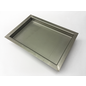 Versandmetall -Special stainless steel tub R3 welded corners 1.5mm h = 90mm axb 490 (527) mm x 290 (327) mm outside ground K320