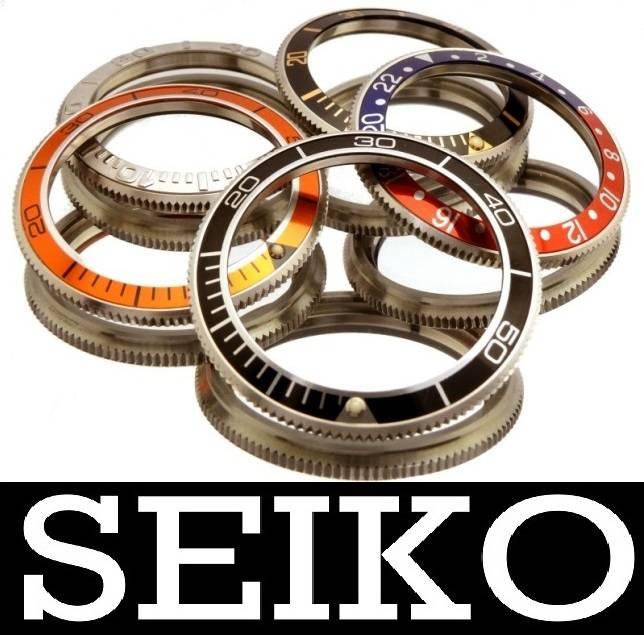 Genuine Seiko bezels