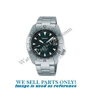 Seiko Seiko SARB059 horlogeband, bezel, gesp & glas