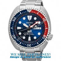 Seiko SRPA21 pointer hands, crown & clasp - PADI Turtle Blue