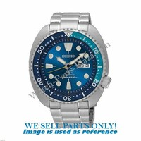 Seiko SRPB11K1 case-back, hour- & minute hand - Blue Lagoon Turtle