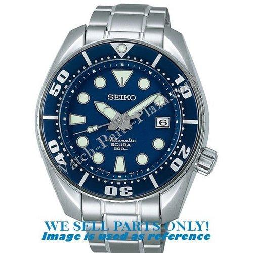 Seiko Seiko SBDC003 wijzerplaatring - Sumo blauw