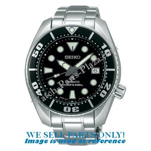 Seiko Piezas de reloj Seiko SBDC031 - Sumo Negro