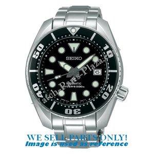 Seiko Seiko SBDC031 Horlogeband - Sumo zwart