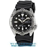 Piezas del reloj Seiko SKX171K1 - Black Scuba Diver
