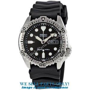 Seiko Seiko SKX171K1 horloge onderdelen - zwarte scuba