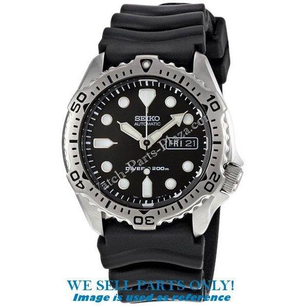 Seiko Seiko SKX171K1 Horloge Onderdelen 7S26-7020 Horlogeband, Wijzers, Bezel, Kroon & Wijzerplaat