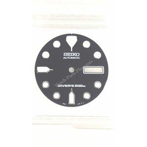 Seiko SKX171K1 Quadrante nero Seiko Scuba Diver 7S26-7020