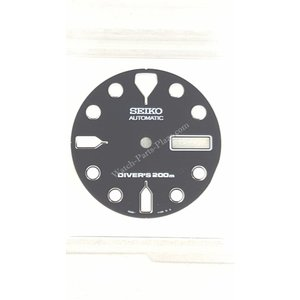 Seiko SKX171K1 Wijzerplaat zwart Seiko Scuba Diver 7S26-7020