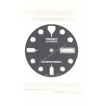 Seiko Wijzerplaat Seiko SKX171P1 / SKX171K1 zwart 7S26 7020 7029 Origineel 726113RXB13