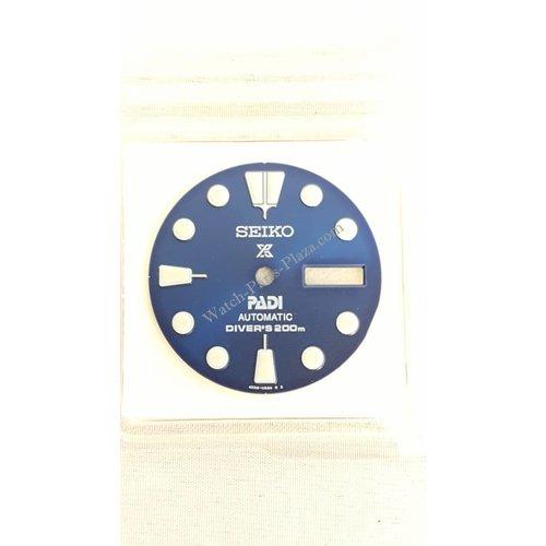 Seiko SRPA21 Wijzerplaat 4R36-05H0 - PADI Turtle Blue