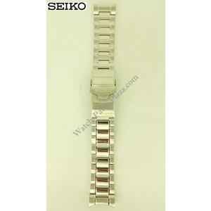 Seiko Bracciale in acciaio Seiko Stargate SRP491 SRP493 SRP495 Bracciale in acciaio 4R36-02Z0