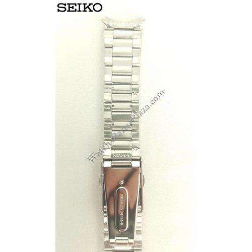 Seiko Seiko 6T63-00B0 Banda de reloj de acero inoxidable SSB035, SSB037, SSB039, SSB045