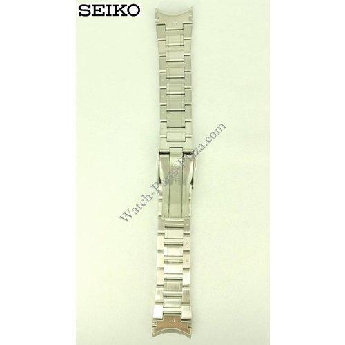 Seiko Banda de reloj Seiko Sportura acero inoxidable 21mm 7D48-0AK0
