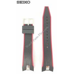 Seiko Faixa de relógio Seiko Sportura SNAE93 Alça 7T62-0LC0 21mm FCB