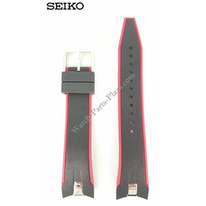 Seiko Horlogeband Seiko Sportura SNAE93 Band 7T62-0LC0 21mm FCB