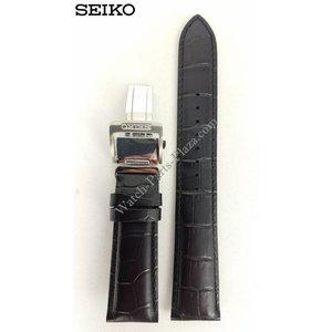 Seiko Seiko SARG017 Uhrenarmband 6R15-02V0 20mm Schwarz