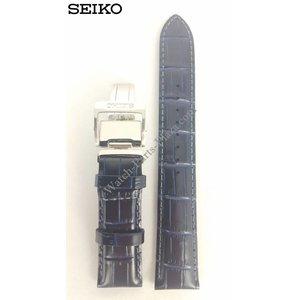 Seiko Seiko SARG015 Uhrenarmband 6R15-02V0 20mm Blau
