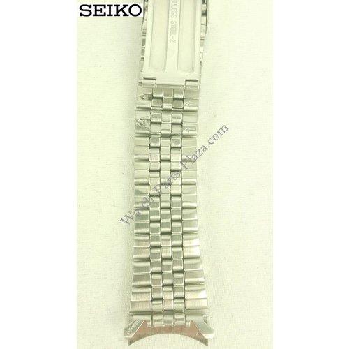 Seiko Correa de reloj Seiko Bell-Matic 7S26-3110 7009-3110 7546-6040 correa de acero inoxidable G1341