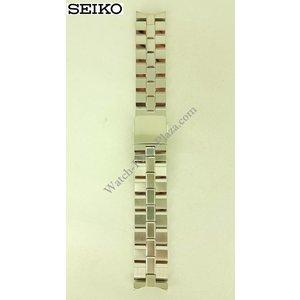 Seiko Pulsera de acero Seiko SPB001 6R20-00A0 Banda de reloj 21mm