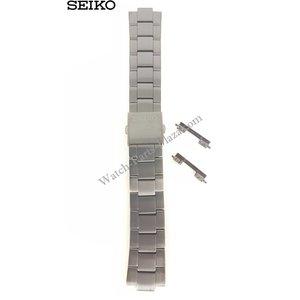 Seiko Seiko SBFG003 pulsera de acero negro S760-0AB0 correa de reloj