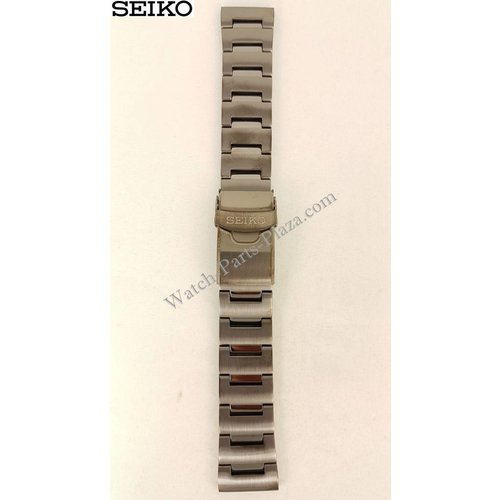 Seiko Black Steel Bracelet for Seiko Monster Watches 22MM - 30081MM