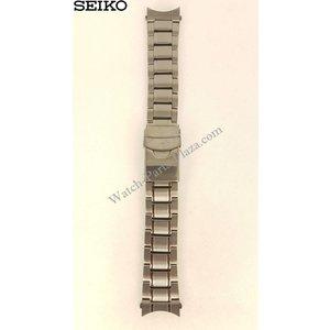 Seiko Pulseira de aço para preto Seiko SRP429K1 4R36-03J0