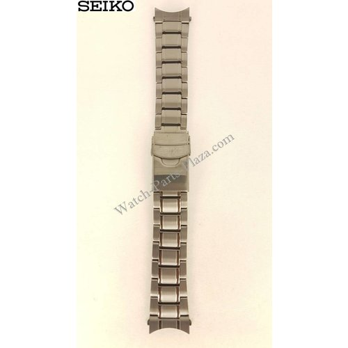 Seiko Pulsera de acero para Seiko SRP429K1 Negro 4R36-03J0