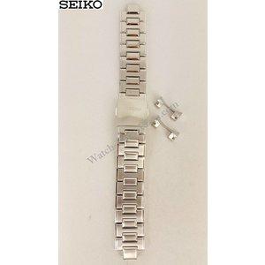 Seiko Pulsera de acero Seiko SNP001 7D48-0AA0 Banda de reloj 20mm