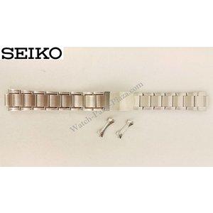 Seiko Pulsera de acero para Seiko 7T92-0BA0 18 mm