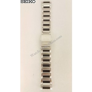 Seiko Bracciale in acciaio Seiko 9T82 SLQ021 SLQ023 Cinturino
