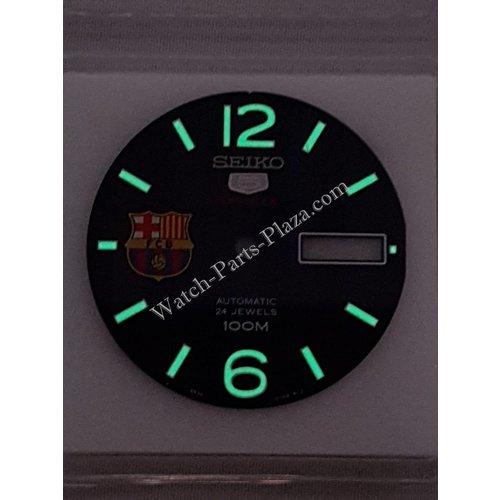 Seiko Seiko 5 Sports FC Barcelona SRP303 Dial Azul 4R36-01G0 SRP303K1 SRP303J1