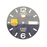 Seiko SRP303 Wijzerplaat 4R36-01G0 - 5 Sports FC Barcelona