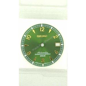 Seiko SARB017 Wijzerplaat 6R15-00E0 Diashock Groen