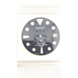 Seiko SBDC029 mostrador preto Seiko Shogun Titanium 6R15-01D0