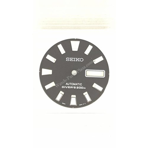 Seiko SRP495K1 Wijzerplaat Seiko Stargate 4R36-02Z0 Zwart