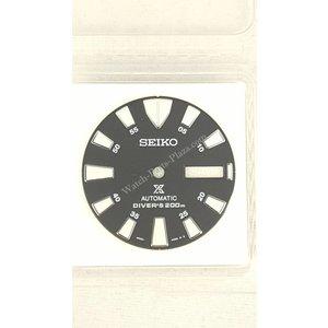 Seiko SRP637K1 schwarzes Zifferblatt Seiko Tuna 4R36-03Z0 SRP639K1