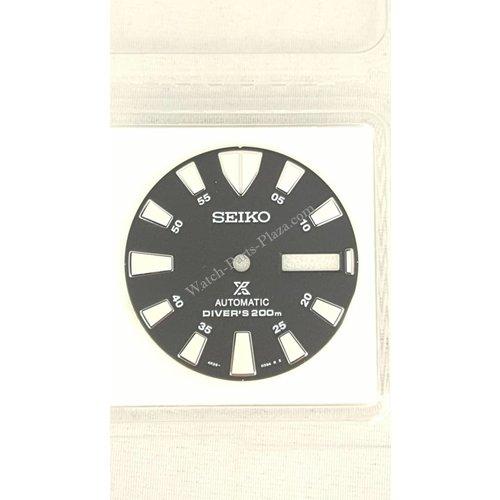 Seiko SRP637 Wijzerplaat 4R36-03Z0 Baby Tuna SRP639